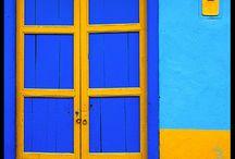 C: Yellow & Blue