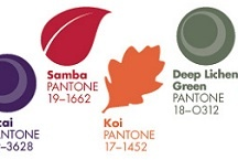 Pantone Fall 2013 Color Palettes / Here are the colors that Pantone predicts will be all the rage for Fall 2013
