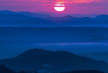 zonsondergang & zonsopgang