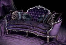 ::: Princess Purple Decor ::: / The original color purple was derived from a dye that was extracted from a mollusc. In ancient times only the wealthy could afford this beautiful color. It became known as Royal and Imperial Purple - a symbol of royalty. Truly fit for a Princess... Princess Purple Decor
