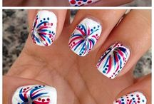 Nails-4th of July