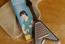 Guitar-shaped kitchen things / I'm a guitarist and a foodie, and find humor in the amazing number of kitchen gadgets I find in the shape of guitars. I doubt they improve either your playing or your cooking and eating, but here they are, anyway. No, I do not own these things.