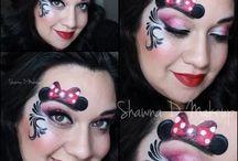 maquillage  dessin animé