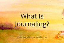 Journaling / Journal articles, prompts and quotes