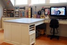 Craft Room Ideas / by Donna Engborg