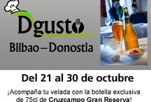 Eventos: Dgusto Bilbao Donostia  / Evento desarrollado por eltenedor.es entre el 21 y el 30 de octubre en Bilbao y Donostia