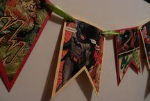 Party Ideas - Super Hero / by Michelle Ekrut