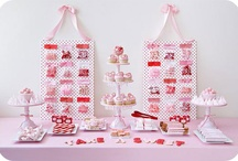 Pink and Red Dessert Table / by Ellen Jay Stylish Events + Sweets
