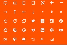Design – Iconography / A collection of icon packs.