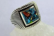 Rings - Native American Indian Jewelry / Native American Indian Rings
