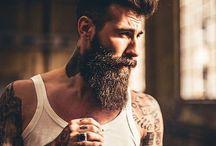 Shooting street beard mood