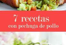 RECETAS CON PECHUGA DE POLLO