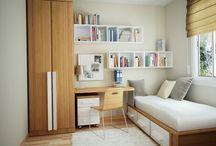 Small Elegant bedroom