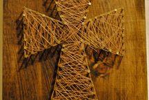 nail and string art!!!