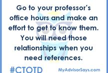 #CTOTD / College Tip Of The Day from Sereno Consulting Services. #ctotd