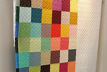 Solid colors quilts