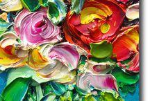 Virág festmények