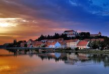 Ptuj, Slovenia / A town which boasts incredibly rich historical heritage can take you on a journey through different periods of the past. Visit the Ptuj castle with an impressive collection and admire the views it offers of the surrounding field of the Drava river.