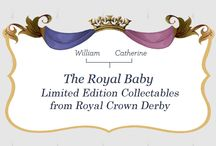 Royal Baby Collection by Royal Crown Derby / William and Catherine are due in July.  Royal Crown Derby will have some great commemorates.