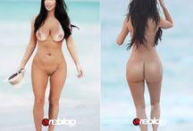 Kim Kardishian Naked