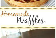 Waffle recipes!