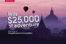 Win $25,000 of Adventure / Intrepid Travel turned 25 in November 2013, and to celebrate, we wanted to do something spectacular. So to mark our big birthday, we gave away USD $25,000 to one lucky winner to spend on the adventure of their choice. / by Intrepid Travel
