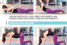 ejercicios para fortalecer lumbares
