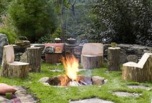 fire pits and outdoor furniture