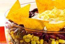 Salate und alle anderen gute Sachen