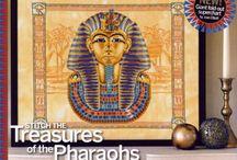 Fáraók, piramisok, sivatag