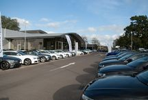 Crewe Audi / Crewe Audi, a franchise Audi car dealer in Cheshire, part of the family owned Swansway Group. / by Swansway Group