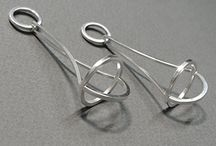 H&W17 - Theme - Pendulum earrings / HerbertandWilks Visual Diary to provide inspiration for project work