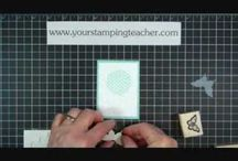 Stampin' Videos-Your Stamping Teacher / How to videos / by Your Stamping Teacher