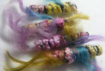 Fabric Beads / Bead making