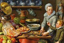 Markt- und Küchenbilder