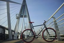 TWO Wheellll projects / Custom -built urban fixed gear , single speed are