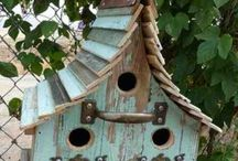 Bird houses and feaders / Wild birds also need a place to eat and sleep
