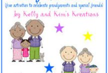 Grandparent's Day / These ideas and resources for Grandparents Day are for prek, kindergarten, first grade, and second grade classrooms.