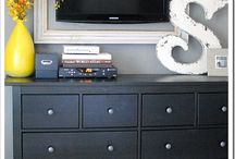 IDEAS: My Office / Decorating and organizing ideas for my home office...