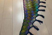 Knitting - Entrelac