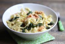 One pot pasta / Tagliatelles saumon épinard