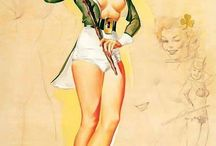 Old-Fashioned Sex Appeal / Classic pin-ups and cheesecake art.