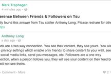 Tsu Tips / Tips and tricks for the Tsu social network. Follow me at http://tsu.co/MarkTraphagen