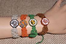Macramè Bracelets / Handmade macramè bracelets, all my creations!