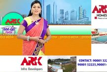 """HYDERABAD'S AFFORDABLE LUXURY PROJECT """"ARK HOMES"""" KOMPALLY"""