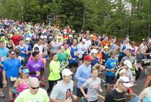 Grandma's Marathon Races / Our big event is Grandma's Marathon, but we offer races throughout the year. From a marathon to a mile, from the North Shore to Downtown Duluth, from PRs to BQs, find the race that kicks your spirits into high gear.