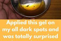 Remove dark marks