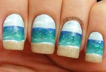 Summer Nail Art Designs / Whether you're going to invade the beach or go on a trip with friends, it's always best to fully enjoy yourself this summer.