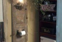 Prim bathroom ideas