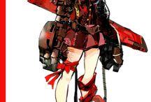 キャラデザ 女性 SF幻想系 戦士